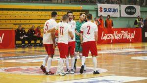 Towarzyski mecz w futsalu Polska- Belgia