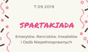 XIV Powiatowa Spartakiada @ Stadion Miejski im. K. Deyny