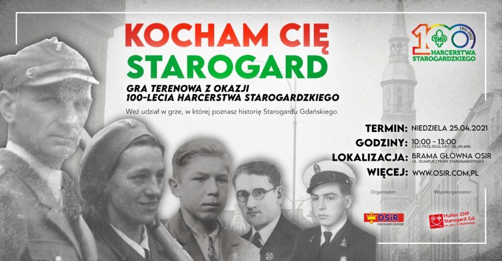Kocham Cię Starogard – gra terenowa z okazji 100-lecia starogardzkiego harcerstwa